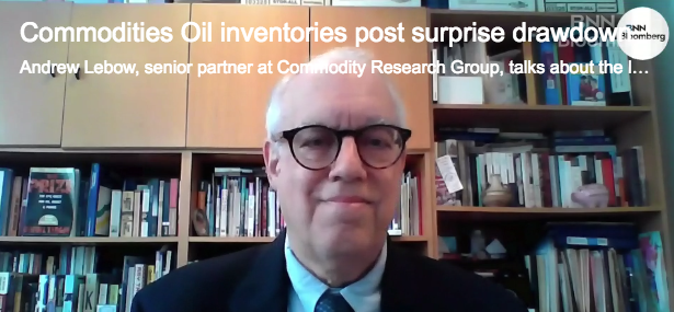Andy Lebow Commodity Research Group BNN Bloomberg